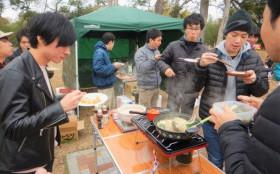 アウトドア同好会 活動報告 12月7日(土) 忘年会BBQ開催しました!