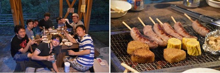 アウトドア同好会 活動報告Summer camp編2