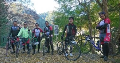 自転車同好会 11月度 香嵐渓ツーリング 1