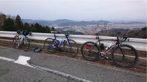 自転車同好会 1月度 初詣ツーリング2
