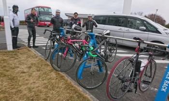 自転車同好会 2月度 「蔵王山」ヒルクライム1