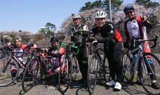 自転車同好会 4月度 名古屋城ツーリング1