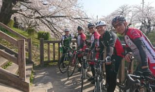 自転車同好会 4月度 名古屋城ツーリング2