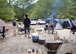 アウトドア同好会 活動報告 Summer camp編3