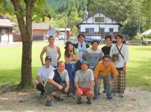 アウトドア同好会 活動報告 Summer camp編5