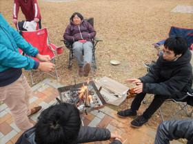 アウトドア同好会 活動報告 12月7日(土) 忘年会BBQ開催しました!3