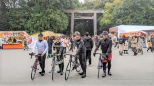 自転車同好会 1月度 熱田神宮ツーリング1