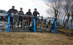自転車同好会 2月度 蔵王山ヒルクライムコース
