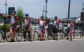 自転車同好会 6月度 テクニカルセンター~岡崎SAツーリング