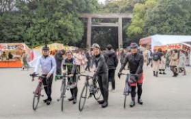 自転車同好会 1月度 熱田神宮ツーリング